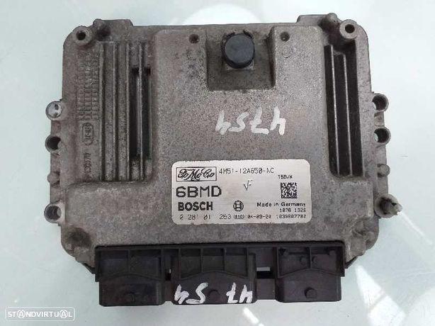 4M5112A650NC  Centralina do motor FORD FOCUS C-MAX (DM2) 1.6 TDCi G8DA