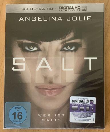 Salt bluray 4k ultra hd, uhd, blu-ray, zafoliowany