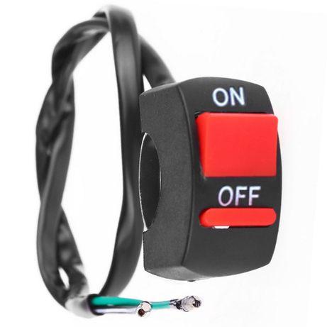 Botão On/Off Kill Switch Mota Guiador