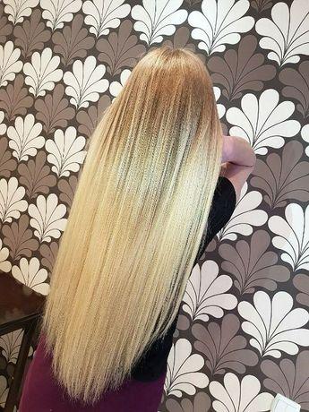 Наращивание волос 600 грн. Коррекция и снятие наращеных волос