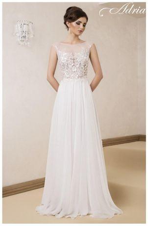 Sukienka ślubna Adria 1409 rozm.34 wzr.163cm