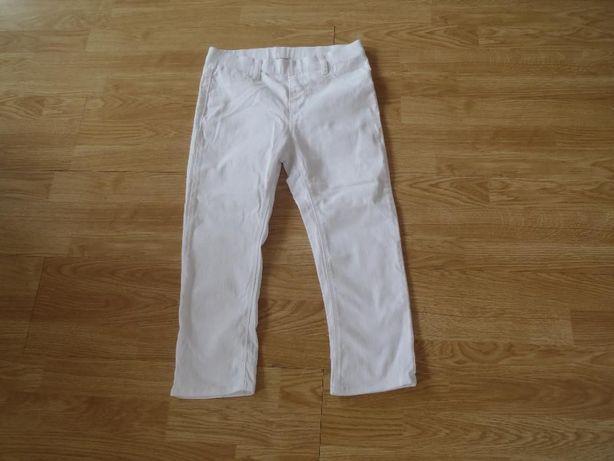NOWE tregginsy na lato - bawełna r. 36 rurki spodnie