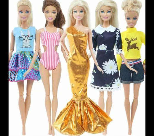 5 fajnych stylizacji dla lalki Barbie i nie tylko
