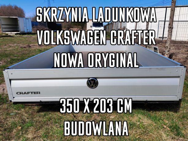 Slrzynia ladunkowa budowlana Crafter 350x203 cm