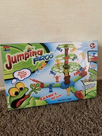 Детская игра Прыгающие лягушки