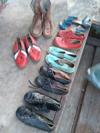 Детская обувь СССР