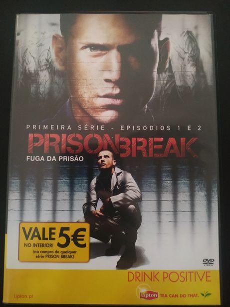 Prision break - episódios 1 e 2 - Dvd Original