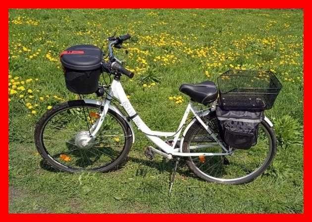 rower elektryczny, rower, rower miejski