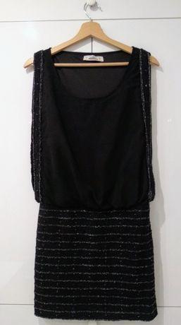 Czarna sukienka pull&bear rozmiar M