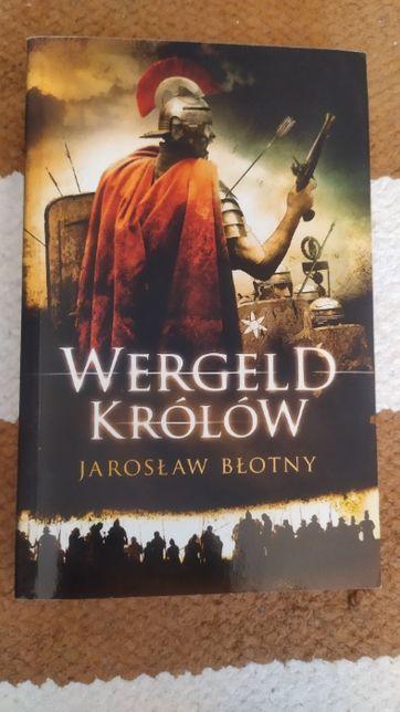 Książka pn. Wergeld królów z podpisem autora