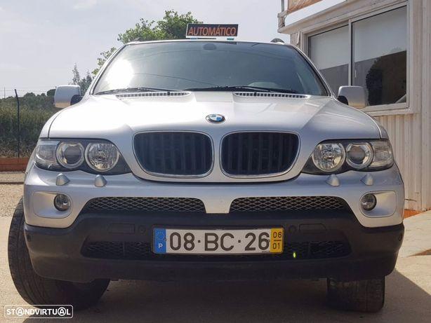BMW X5 3.0D CAIXA AUTOMÁTICA EXCELENTE ESTADO GERAL ( SELO ANTIGO )