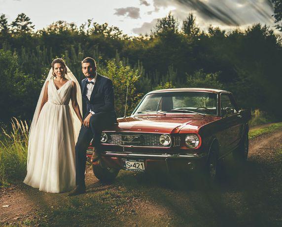 Auto do Ślubu - Samochod Ford Mustang V8 1966/1965r
