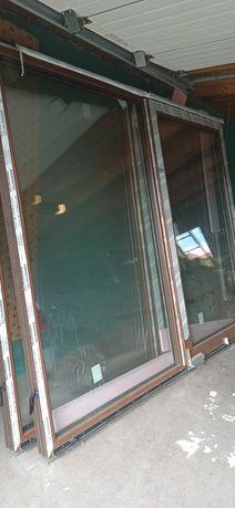 Okna przesuwne tarasowe
