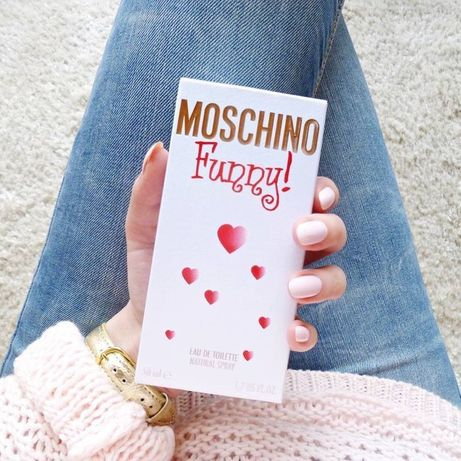 Moschino funny 100 ml - духи новые полные стойки москино 8 марта