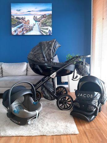 Wózek 3w1 Anex Sport Jacob z fotelikiem Cybex Aton M
