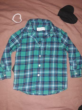 Рубашка next на мальчика 1.5-2г.
