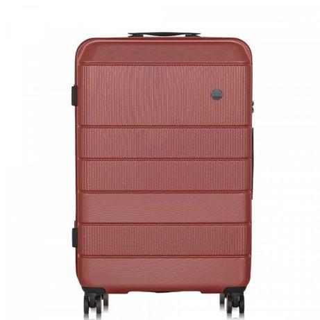 Nowa średnia walizka Ochnik poliwęglan polikarbon policarbon 64l TSA