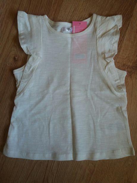 Bluzka t-shirt top 116 nowa