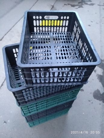 Ящики пластиковые оптом разных размеров