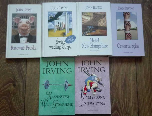 John Irving- zestaw książek