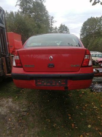 Renault Thalia 1,4 benzyna + LPG- Części-Tanio