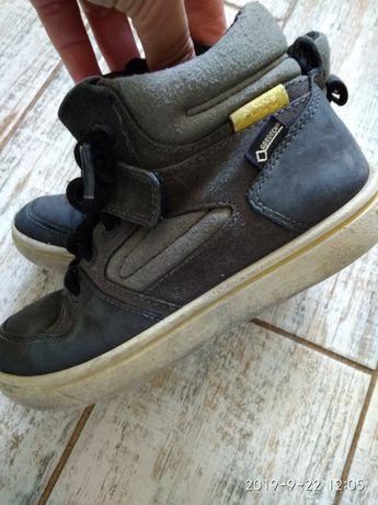 Хайтопы, демисезонные ботинки, кроссовки Ecco biom ( gore tex)