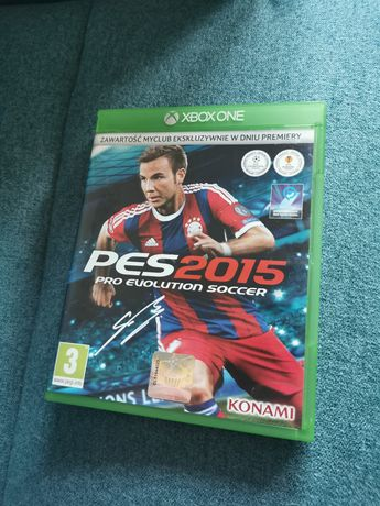 Pro Evolution soccer 2015 Pes 2015 Xbox One gra jak nowa