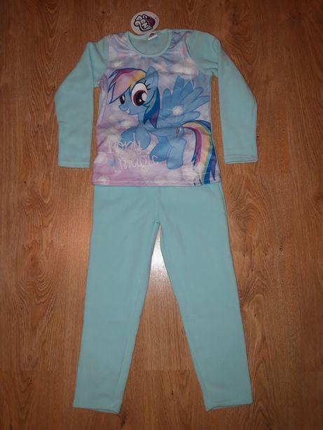 Nowa piżama polarowa z Rainbow Dash, My Little Pony, Kucyki, rozm.116