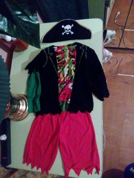 Карнавальный костюм Пират, Разбойник от 6-8 лет.