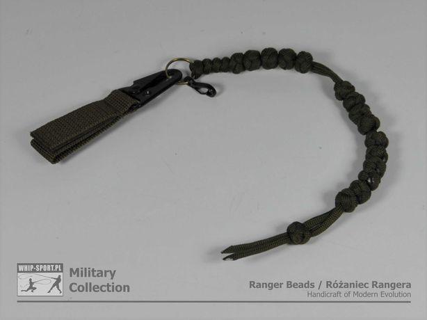 Różaniec Rangera / Krokomierz / Ranger Beads - Oliwkowy