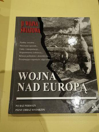 Książka wojna nad Europą