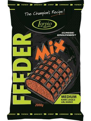 Zanęta Feeder Mix Medium 2kg Lorpio