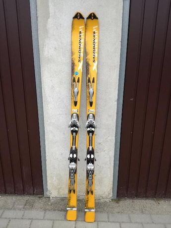 narty Xscream salomon dachstein swix yellow 179