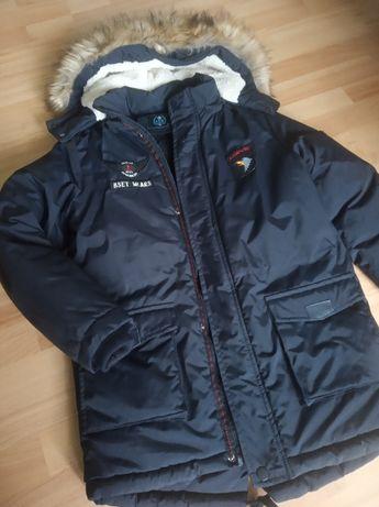 kurtka zimowa chłopięca rozmiar 164
