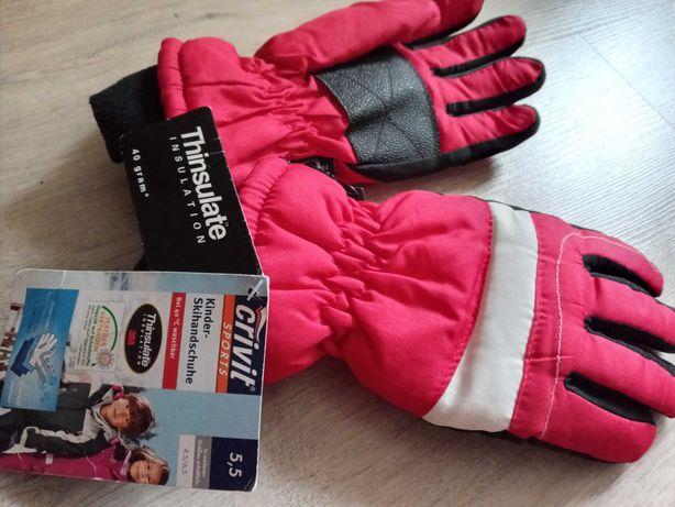 Crivit перчатки рукавички размер 5,5, дыщащие, Тинсулейт