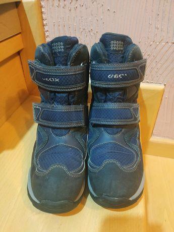 Buty zimowe Geox r.34 wkładka 21,2 cm