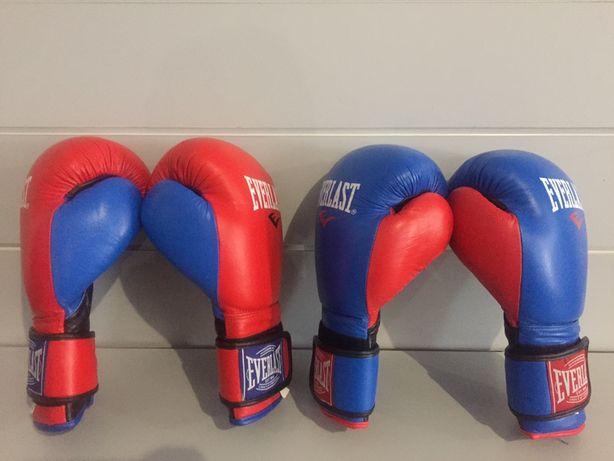 Боксерские перчатки Бинты Everlast тренировочные новые
