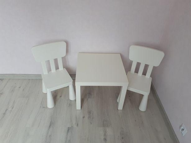 Stolik i 2 krzesełka dla dzieci