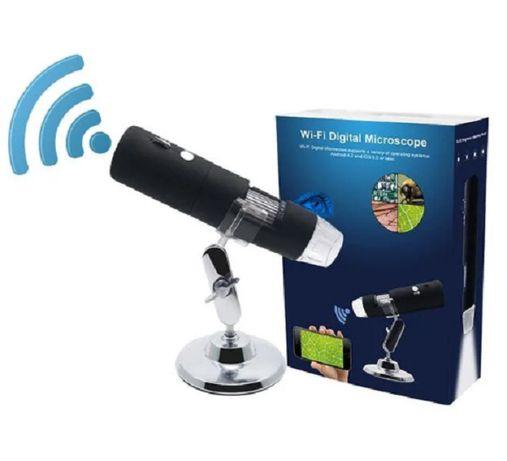 Цифровой USB Микроскоп с подсветкой х800, x1000, x1600