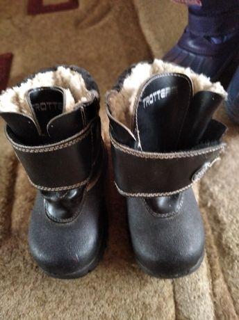 Зимние ботинки ботиночки