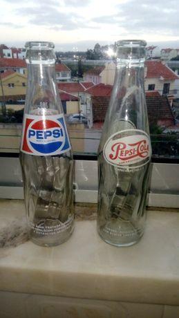 Garrafas Pepsi gravadas