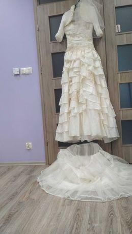 Nowa suknia ślubna 38-40