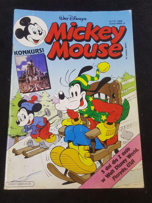 Mickey Mouse. Nr.3/1992. Komiks Morąg - image 1
