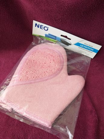 Мочалка рукавица Neo