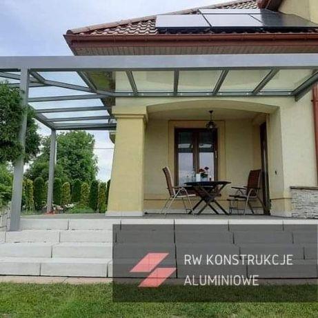 Pergole zadaszenia ogrody zimowe balustrady wiaty szklo aluminium