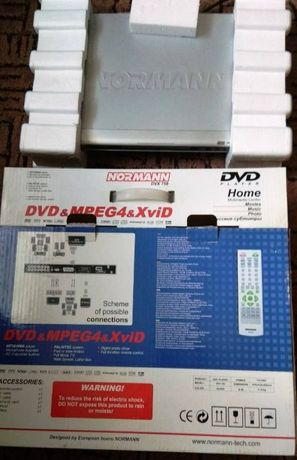 DVD-player Normann DVX 758