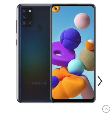 Samsung galaxy a21 s czarny