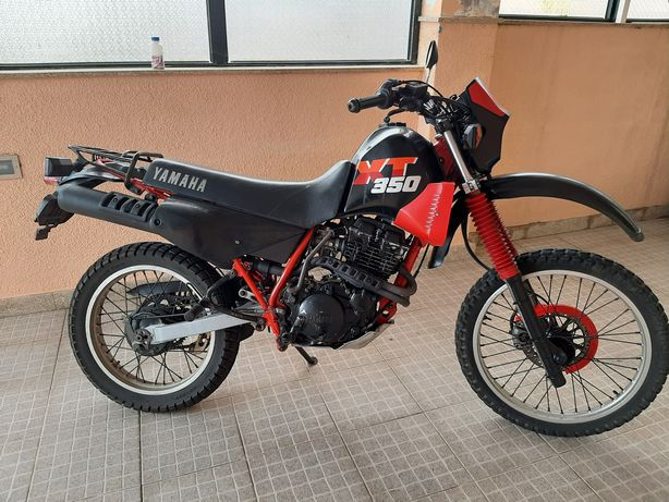 Mota Yamaha XT350