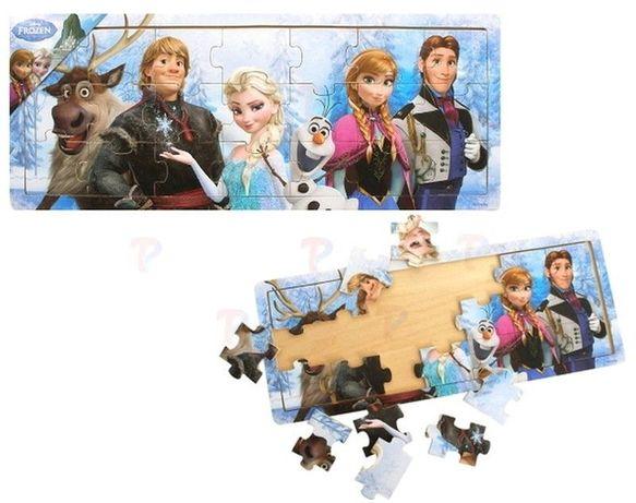 Puzzle Kraina Lodu Anna i Elza Drewniane