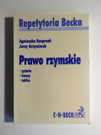 Repetytoria Becka Prawo rzymskie